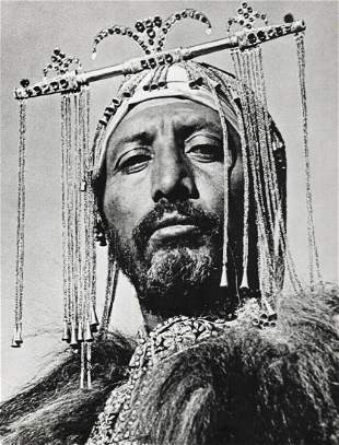 ALFRED EISENSTAEDT, Ethiopia Emperor Selassie Master Of