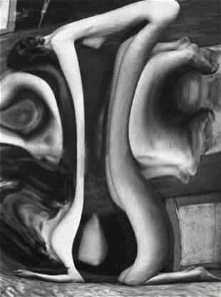 ANDRE KERTESZ, 1932 Surreal FEMALE NUDE #128