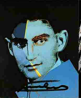 Andy Warhol, C. FRANZ KAFKA Ten Portraits of Jews