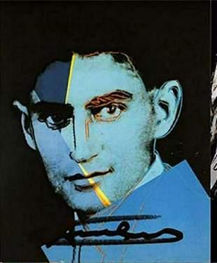 Andy Warhol, C. FRANZ KAFKA Ten Portraits of Jews