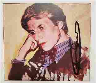 "ANDY WARHOL, Signed Print ""Portraits"", 1982"