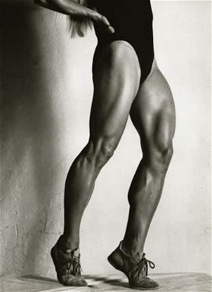 HELMUT NEWTON, Female Athlete Legs, 1981
