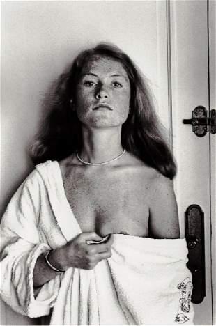 HELMUT NEWTON, Isabelle Huppert, Hotel Carlton, Cannes,