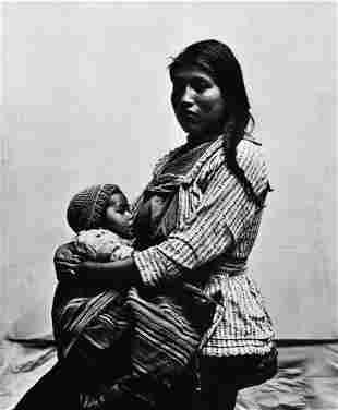 Irving Penn Cusco Peru Mother Child, 1948