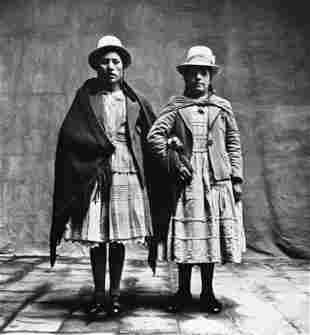 Irving Penn, 1948  Cusco Peru Female Cholas