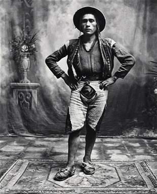 Irving Penn, Cusco Peru Quechua Indian Man, 1948