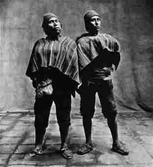 Irving Penn, Cuzco, Peru, 1948. Quechua Indians