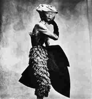 IRVING PENN, Lisa Fonssagrives for Vogue magazine, 1950