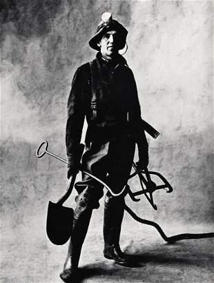 Irving Penn, N.Y.C. Sewer Cleaner Sanitation Worker,
