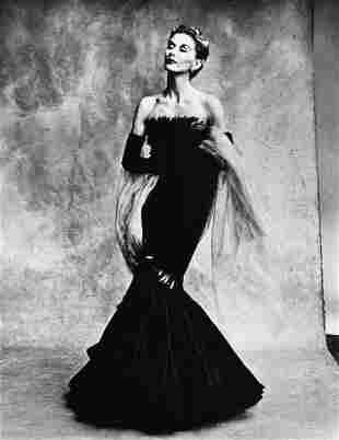 Irving Penn. Marcel Rochas Gown Paris, 1950
