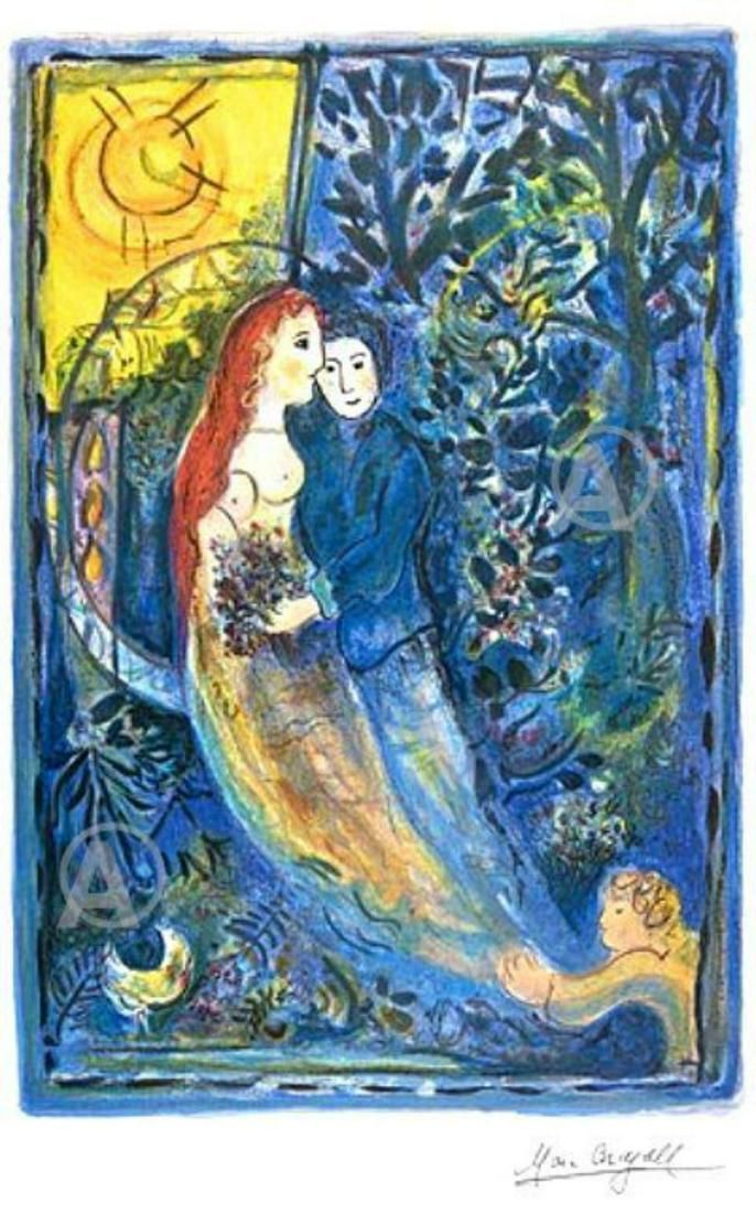 Marc Chagall WEDDING Limited Edition lithograph