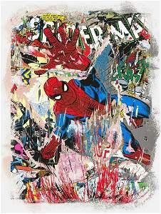 Mr. Brainwash, Spider-Man, Screenprint Signed &