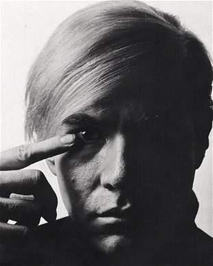 Philippe Halsman, 1968 Vintage ANDY WARHOL