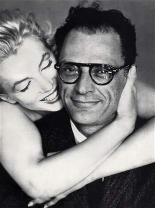 RICHARD AVEDON, MARILYN MONROE & ARTHUR MILLER - 1958