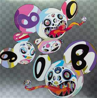 Takashi Murakami, In this world & the next Beyond rest