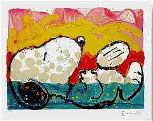 TOM EVERHART BORA BORA BOOGIE DOWN S/N LITHOGRAPH