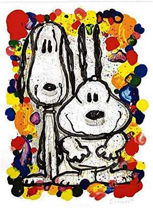 "Tom Everhart, ""Wait Watchers 2000"" Lithograph"
