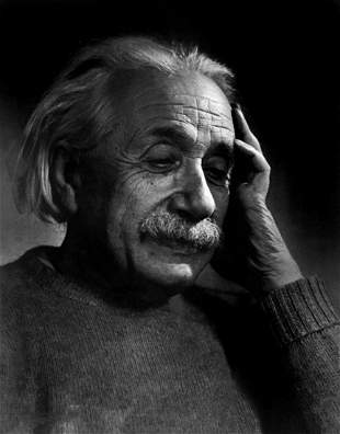 YOUSUF KARSH, 1948 ALBERT EINSTEIN, Photo Gravure
