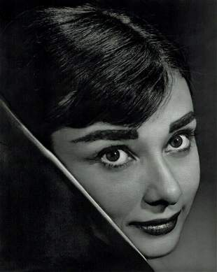 YOUSUF KARSH, 1956 AUDREY HEPBURN, Photogravure
