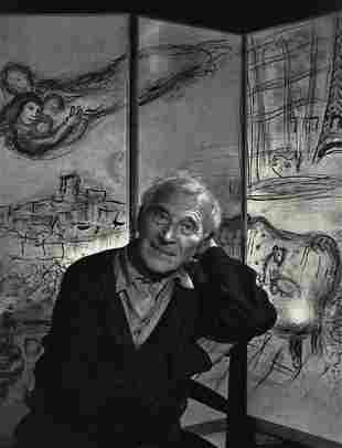 YOUSUF KARSH, 1965 Vintage MARC CHAGALL