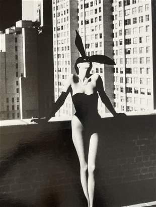 Helmut Newton, Elsa Peretti In New York, Silver Gelatin