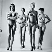 Helmut Newton, Sie Kommen, Paris, 1981 Silver Gelatin