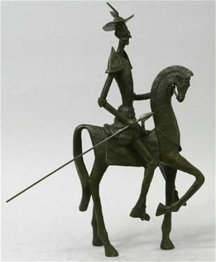 "Salvador Dali, (After), ""Don Quixote"" Limited edition"