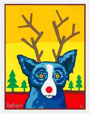 George Rodrigue, Truly Rudy, Signed & numbered