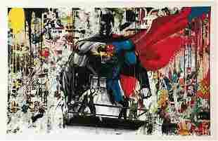 Mr. Brainwash, Batman Vs. Superman - 2016