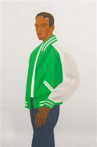 Alex Katz, Green Jacket - 1990, Screenprint