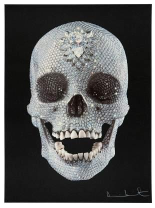 Damien Hirst, Diamond Skull - 2009, Signed & numbered