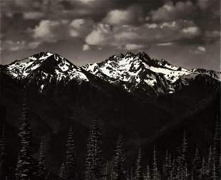 ANSEL ADAMS, 1949 Olympic National Park Snow