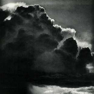 ANSEL ADAMS, 1959 Thunder Storm Cloud