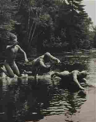 BRUCE WEBER, 3 Male Nude DAMON JASON CHRISTIAN
