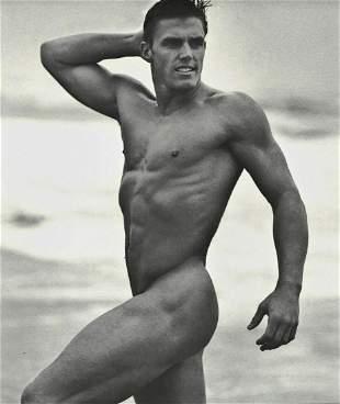 BRUCE WEBER Beach Male Nude Muscle Body, 1990's