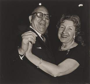 Diane Arbus, A Jewish couple dancing, N.Y.C., 1963