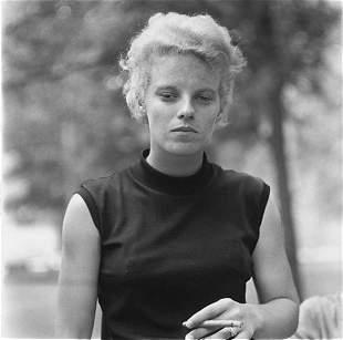 Diane Arbus, Girl with a Cigar, Washington Sq Pk, NYC,