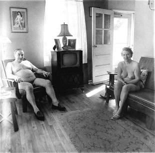 Diane Arbus, Retired man and his wife, NJ 1963