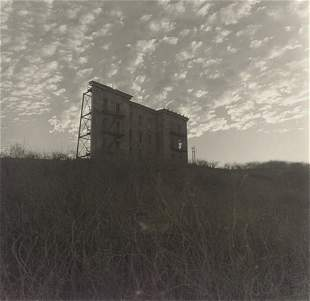 Diane Arbus, A House on a Hill, Hollywood, CA, 1963