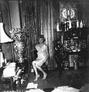 Diane Arbus, A widow in her bedroom on 55th St., NYC,
