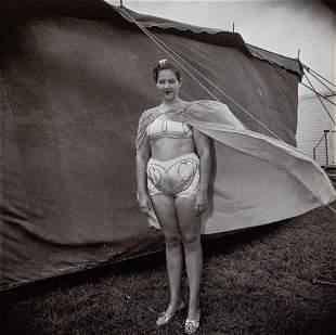 Diane Arbus, Girl In Her Circus Costume, 1970