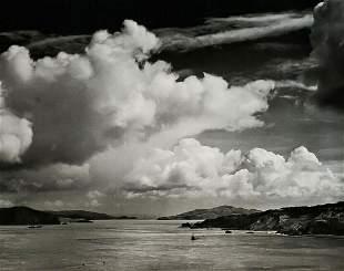 ANSEL ADAMS San Francisco Bay Before Golden Gate Bridge