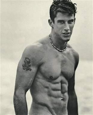 BRUCE WEBER Handsome Male Surfer Muscle 1990's