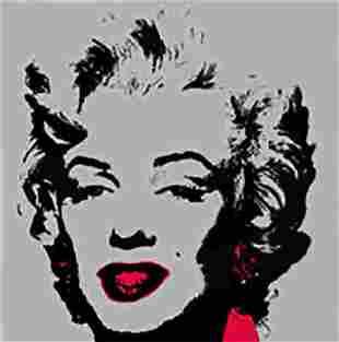 Andy Warhol Golden Marilyn 11.36 Sunday B Morning