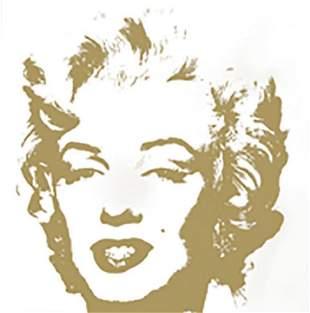 Andy Warhol Golden Marilyn 11.41 Sunday B Morning