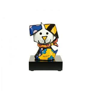 """Romero Britto, """"COCO"""" L/E Porcelain Sculpture"""
