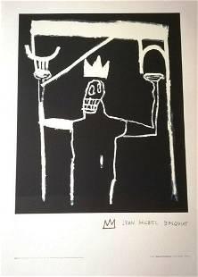 "Jean Michel Basquiat, ""Untitled 1997"" Estate Lithograph"