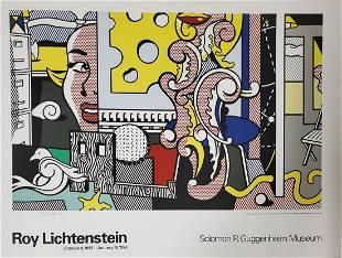 """Roy Lichtenstein """"Go For Baroque"""", 1993 Signed"""