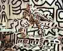 ANNIE LEIBOVITZ - Keith Haring