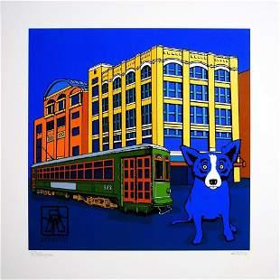 George Rodrigue, Louisiana Blue dog - 2003, Foundation